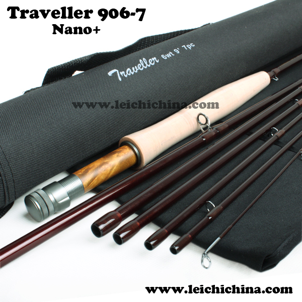 fly fishing traveller fly rod 906-7