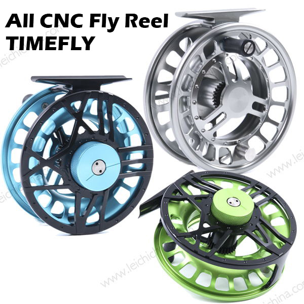 All CNC fly reel TIMEFLY
